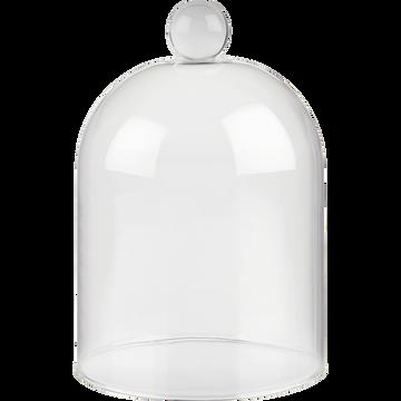 Cloche en verre h14,3cm-ARENAS