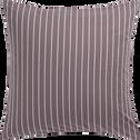 Housse de couette 240x220cm et 2 taies d'oreillers à rayures-ALPHONSE