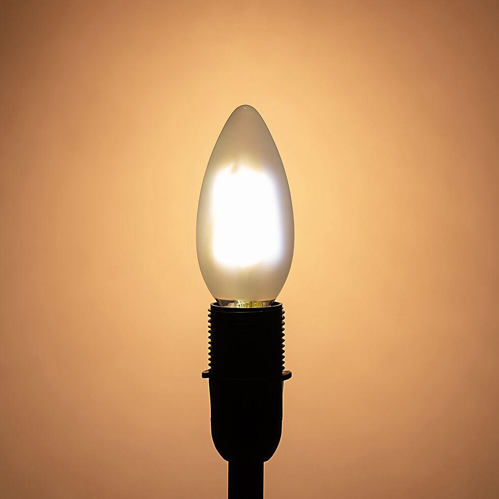 Ampoule LED flamme lumière chaude E14 - D3,5cm-STANDARD