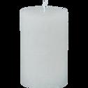 Bougie cylindrique coloris blanc ventoux-BEJAIA