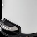 Poubelle à pédale en inox - blanc 12L-FANAL
