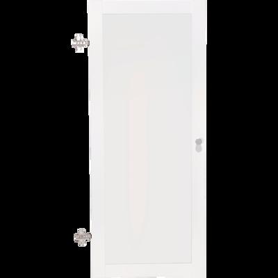 Porte vitrée coloris blanc-BIALA