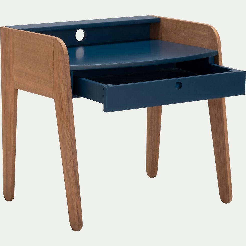 Bureau pour enfant en acacia bleu figuerolles-RAPHAEL