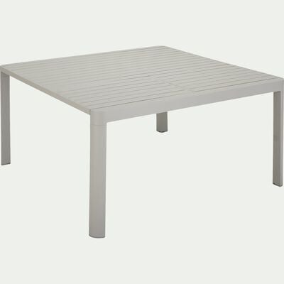 Table de jardin extensible en aluminium - gris-TISOT