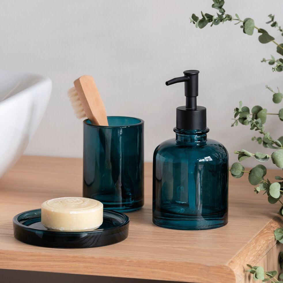 Créer Son Porte Savon osco - porte-savon en verre - bleu
