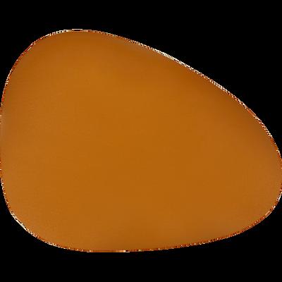 Set de table en caoutchouc brun albe 30,5x39cm-ALMA