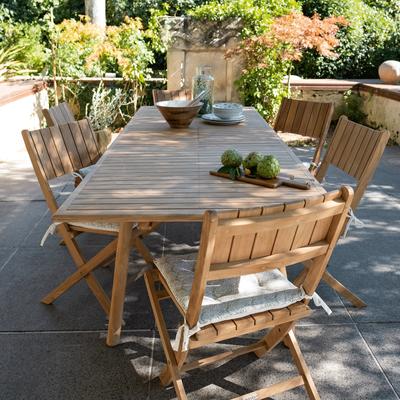 Mobilier de jardin en teck | alinea