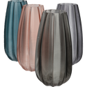 Vase en verre coloré vert cèdre H23 cm-Acheloos