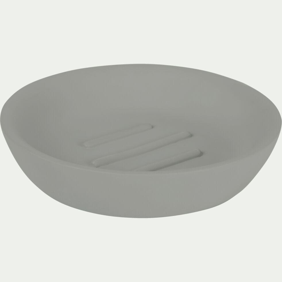 Porte-savon en ciment gris restanque-BORY