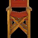 Fauteuil de jardin régisseur en acacia rouge azerole-ALASSIO