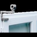 Support de tringle sans perçage argent mat D20 mm-ACESS