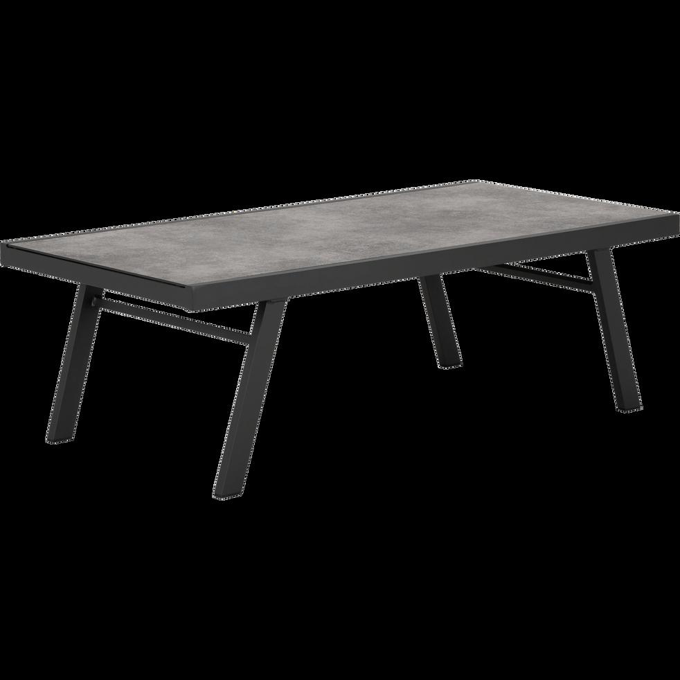 table d 39 appoint de jardin en aluminium et c ramique. Black Bedroom Furniture Sets. Home Design Ideas