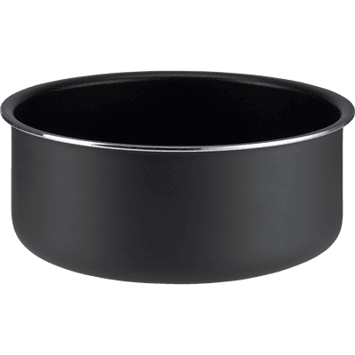 Casserole en aluminium noir D18cm-SOU