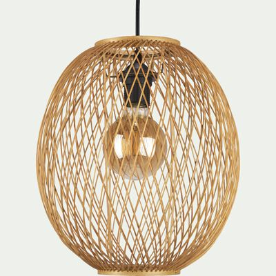 Suspension naturelle non électrifiée en bambou D30xH34cm-LORGUES