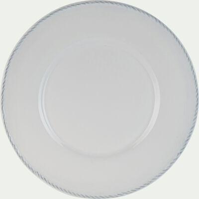 Gamme de vaisselle en faïence blanche