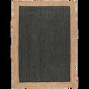 Tapis en jute vert cèdre 160x230cm-NAÏA