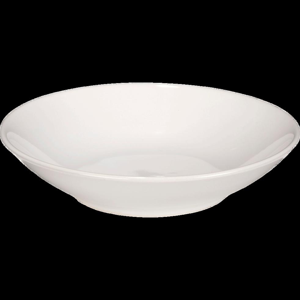 assiette creuse en fa ence blanche d19cm colors assiettes creuses alinea. Black Bedroom Furniture Sets. Home Design Ideas