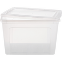Boîte avec couvercle en plastique 70L-MODULAR