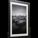 Image encadrée noir et blanc 50x70cm-VENISE