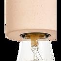 Suspension en béton rose H8,5xD6,5cm-PRAO
