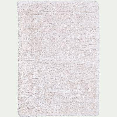 Tapis imitation fourrure - blanc 120x170cm-mala