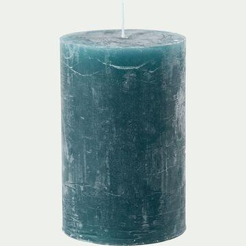 Bougie cylindrique - bleu niolon H11cm-BEJAIA