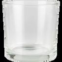 Photophore en verre D14cm-SABBIA