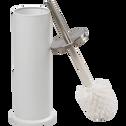 Balai et porte-balai WC blanc-Cedric