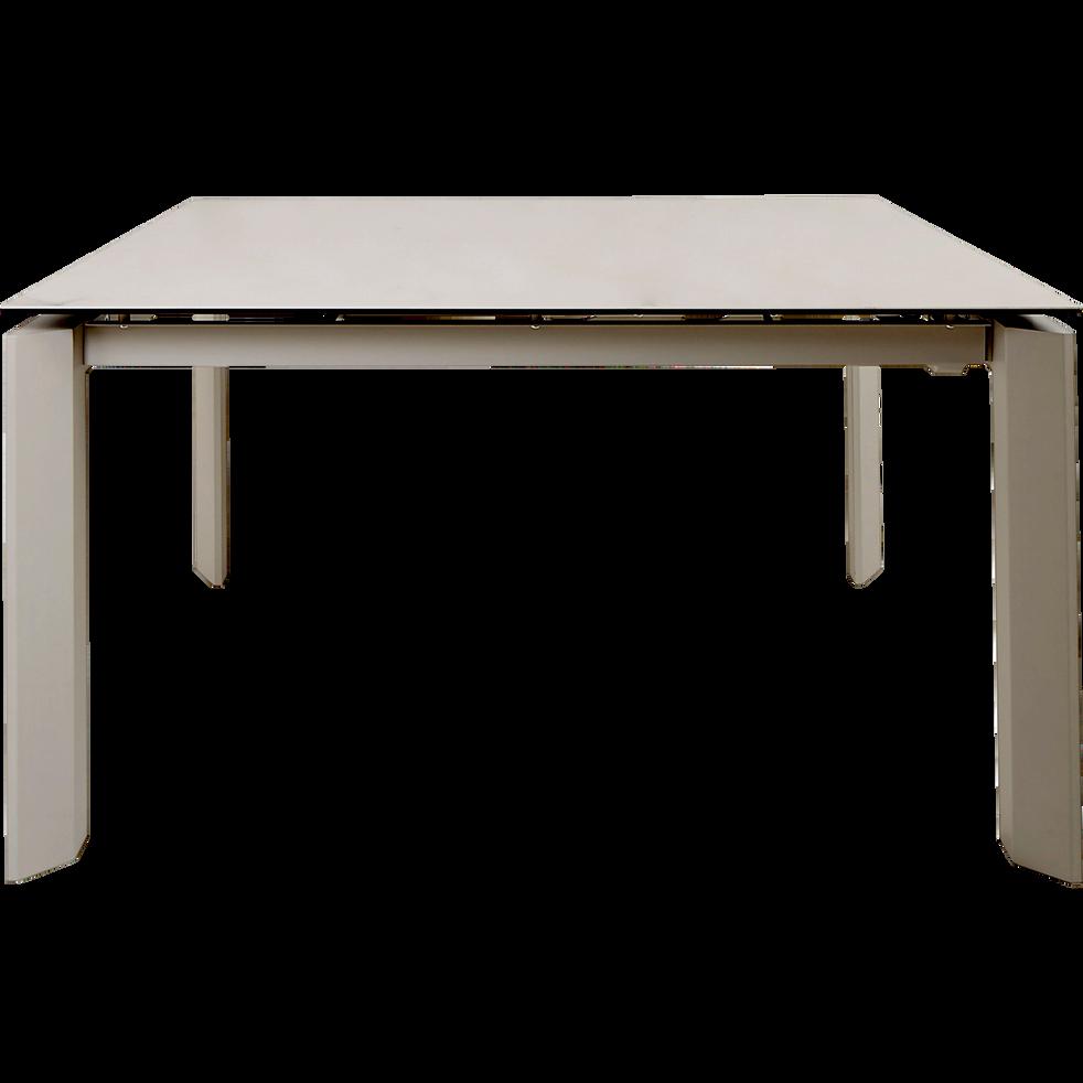 table de repas extensible effet marbre 6 10 places marthe tables extensibles alinea. Black Bedroom Furniture Sets. Home Design Ideas