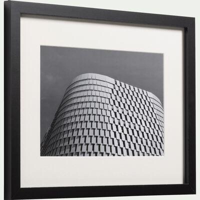 Image encadrée noir et blanc 30x40cm-SANTIN