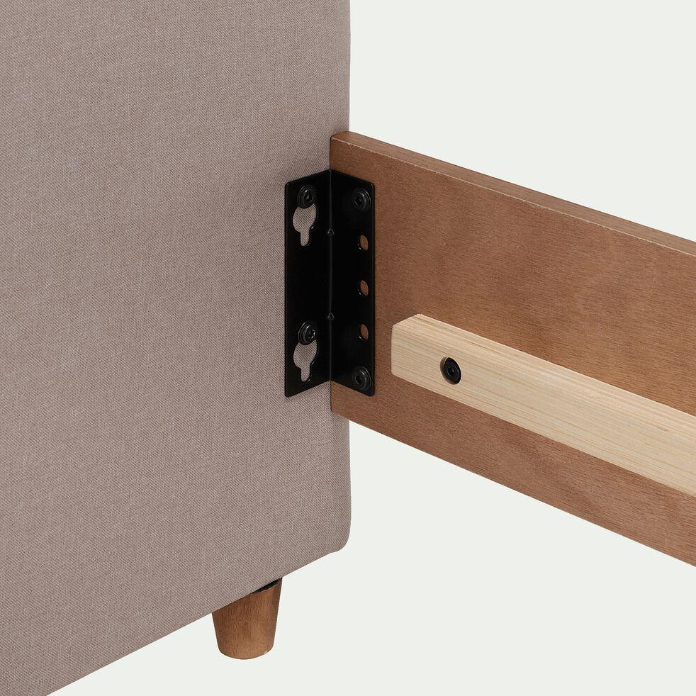 Tête de lit en bois pour lit 140cm - gris-FLO