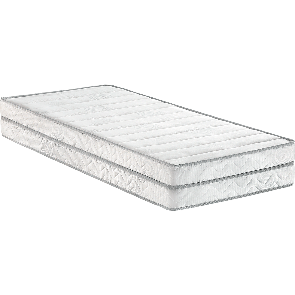 matelas double alin a pour lit gigogne 12 cm 2x90x200 cm dobla 180x200 cm matelas en. Black Bedroom Furniture Sets. Home Design Ideas