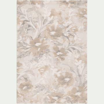Tapis à motifs - beige 160x230cm-OPALE