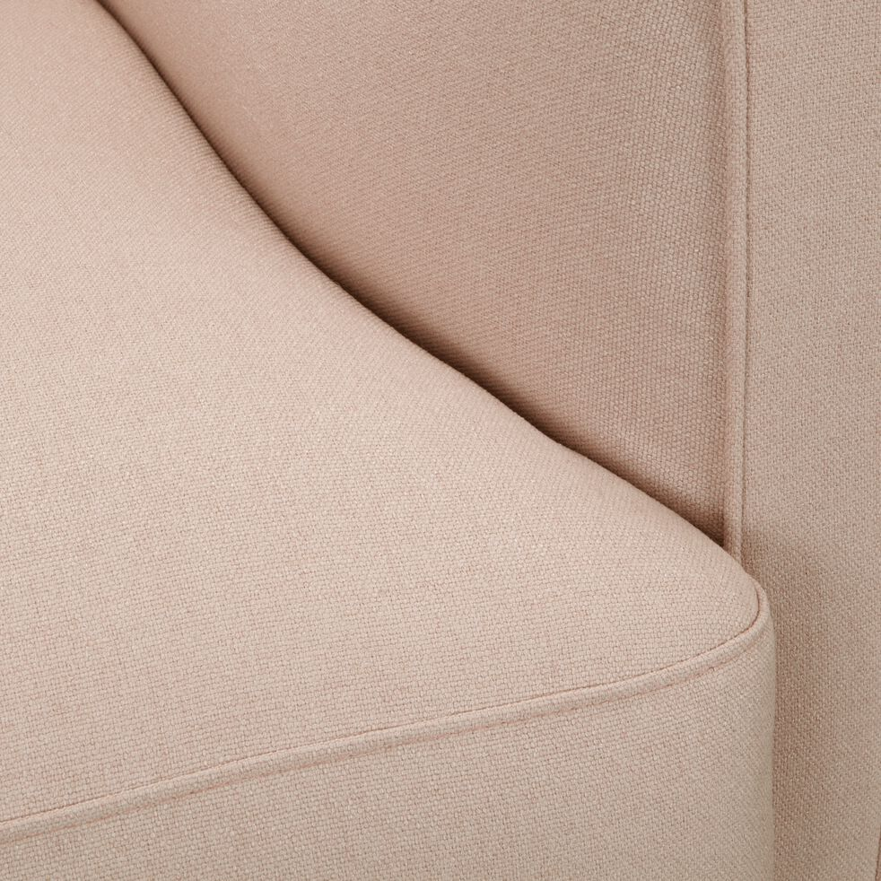 Fauteuil en tissu - beige roucas-LENITA