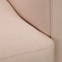 Fauteuil en tissu beige roucas-LENITA