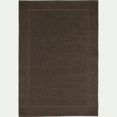Tapis intérieur et extérieur - marron 160x230cm-Kelly