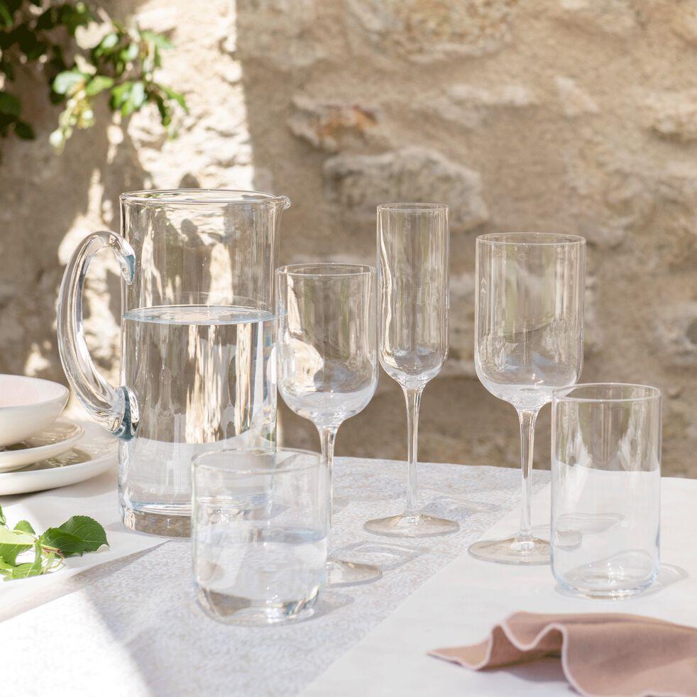 Verre à vin transparent en verre 28cl-SUBLIME