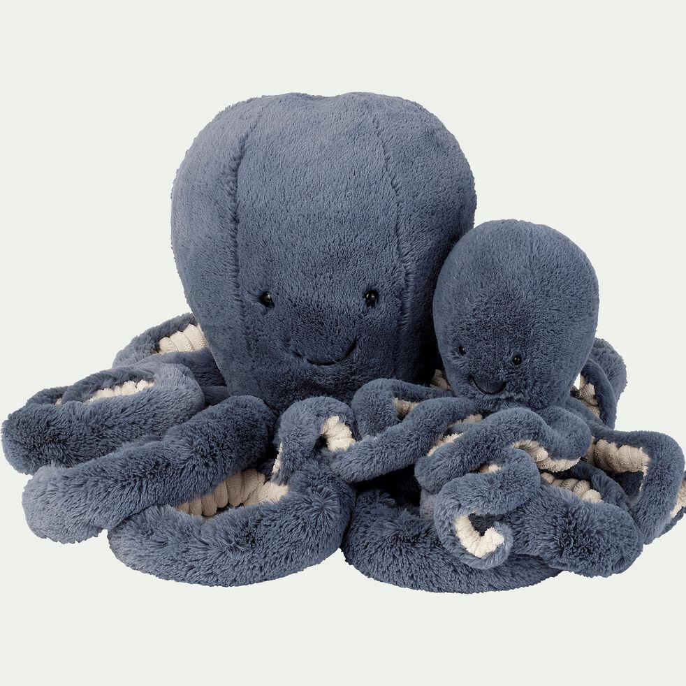 Peluche pieuvre - bleu H49cm-Storm