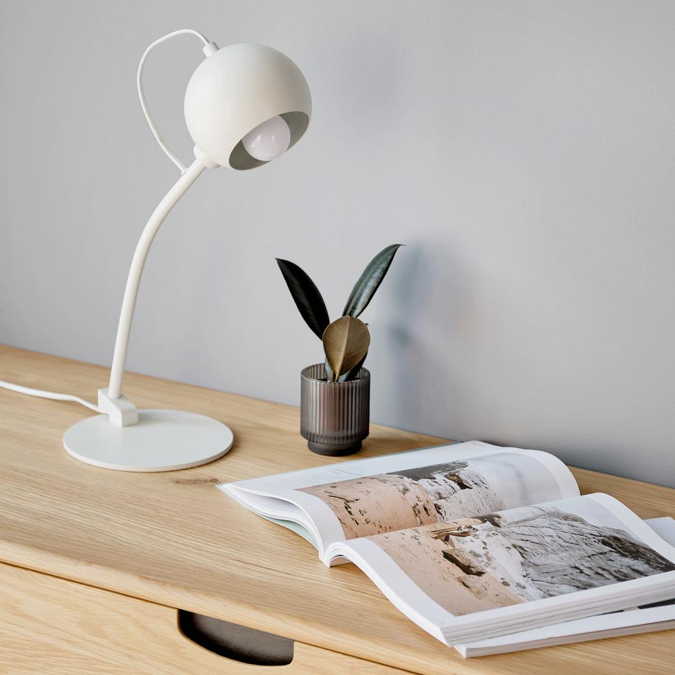 Lampe à poser en métal H45cm-BALL