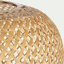 Suspension non électrifiée en bambou D45xH25cm-TOUCAS