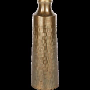 Vase en fer D15xH45,5cm-CANOPUS