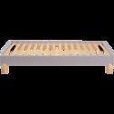 Sommier tapissier Mérinos 15 cm - 90x200 cm-SELF KIT