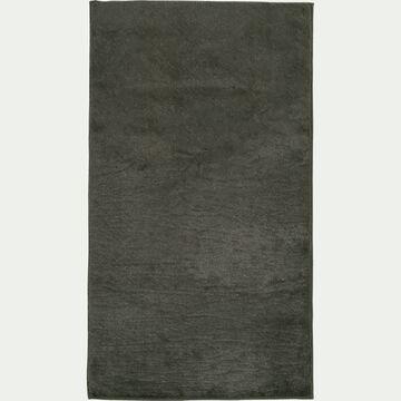 Tapis imitation fourrure - vert cèdre 60x110cm-ROBIN