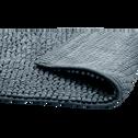 Tapis de bain 50x120cm antidérapant gris-PICO