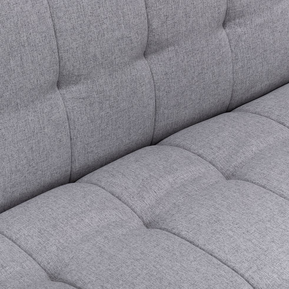 Banquette 3 places convertible en tissu - gris borie-VEORE