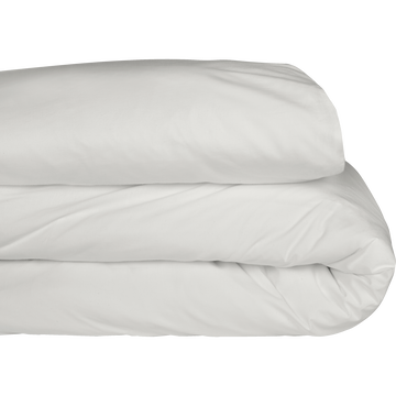 Housse de couette en coton Blanc capelan 240x220cm-CALANQUES