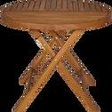 Table de jardin pliante en acacia (4 places)-YOUK