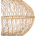 Suspension en bambou D70xH23cm-ROUVIA
