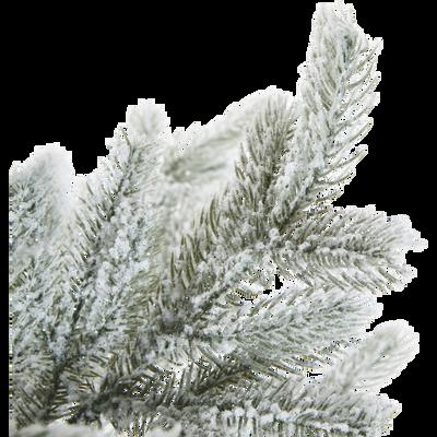 Sapin artificiel enneigé H180cm-GRANDIS