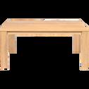 Table de repas en chêne massif - (L160cm) 8 places-EMOTION